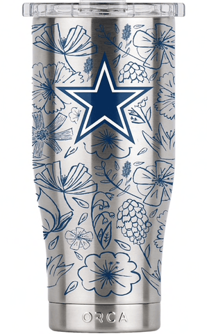 fathers day gift for new dad ideas - dallas cowboys tumbler cup