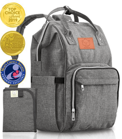 fathers day gift for new dad ideas - diaper bag with new baby essentials