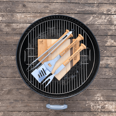 funny fathers day gift ideas with sense of humor - camping grill
