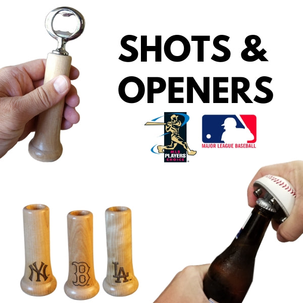 mlb shot glasses knob shots