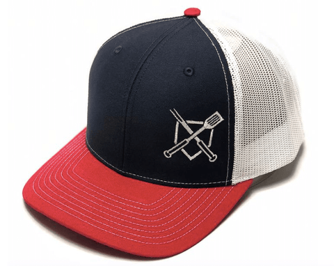 unique fathers day gift ideas from daughters - BBQ themed baseball snapbacks or hats