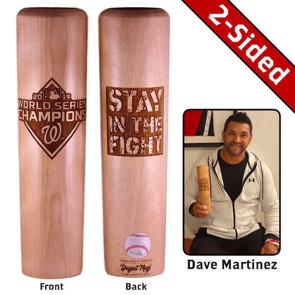 Stay in the Fight™ Dugout Mug® by Dave Martinez