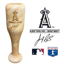 Albert Pujols Baseball Bat Wine Glass | Los Angeles Angels | Signature Series Wined Up®