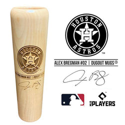 Alex Bregman Baseball Bat Mug | Houston Astros | Signature Series Dugout Mug®