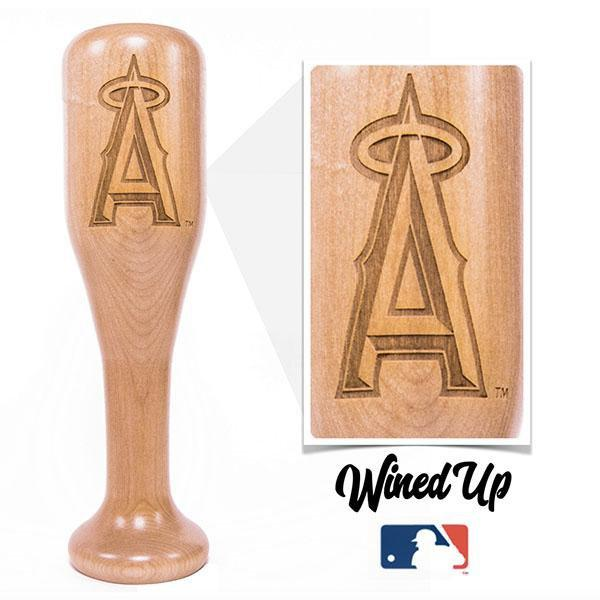 baseball bat wine glass Los Angeles Angels
