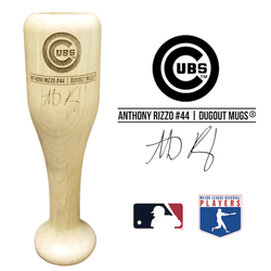 Anthony Rizzo Baseball Bat Wine Glass | Chicago Cubs | Signature Series Wined Up®