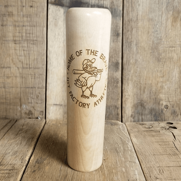 Baseball Bat Mug Hit Factory Home of the Brave