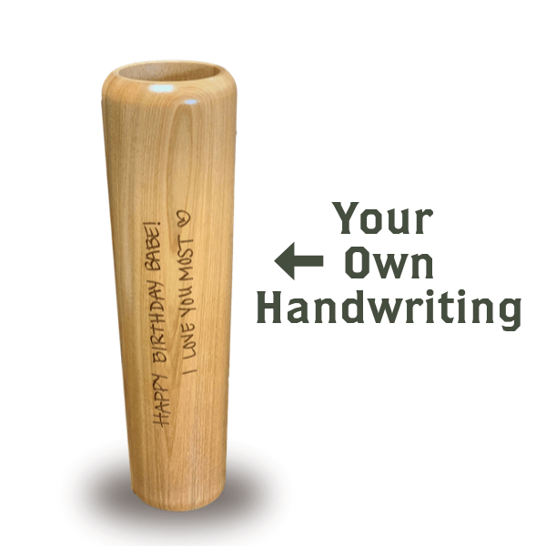 Baseball Bat Mug Handwritten