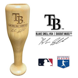 Blake Snell Baseball Bat Wine Glass | Tampa Bay Rays | Signature Series Wined Up®