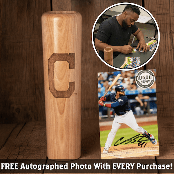 Carlos Santana Autographed Photo and Dugout Mug Combo (ONLY 150 AVAILABLE)