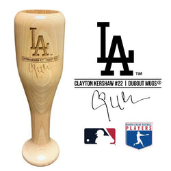 Clayton Kershaw Baseball Bat Wine Glass | Los Angeles Dodgers | Signature Series Wined Up®