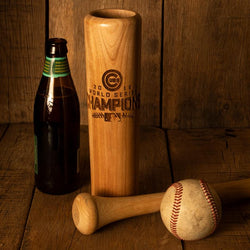 cubs world series baseball bat mug