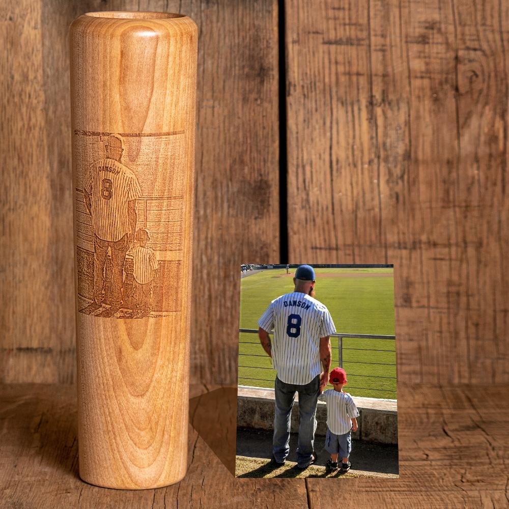Put Your Photo on a Dugout Mug® | Baseball Bat Mug