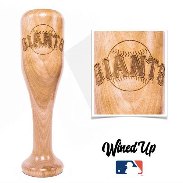 Giants Wined-Up - Baseball Bat Wine Mug