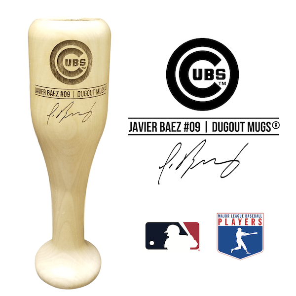 Javier Baez Baseball Bat Wine Glass | Chicago Cubs | Signature Series Wined Up®