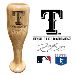 Joey Gallo Baseball Bat Wine Glass | Texas Rangers | Signature Series Wined Up®