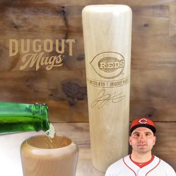 Joey Votto Baseball Bat Mug | Cincinnati Reds | Signature Series Dugout Mug® -