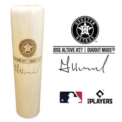 Jose Altuve Baseball Bat Mug | Houston Astros | Signature Series Dugout Mug® -