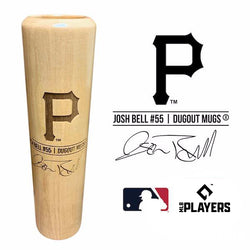 Josh Bell Baseball Bat Mug | Pittsburgh Pirates | Signature Series Dugout Mug®