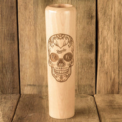 Kansas City Royals Sugar Skull Baseball Bat Mug