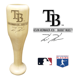 Kevin Kiermaier Baseball Bat Wine Glass | Tampa Bay Rays | Signature Series Wined Up®
