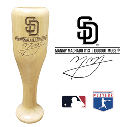 Manny Machado Baseball Bat Wine Glass | San Diego Padres | Signature Series Wined Up®