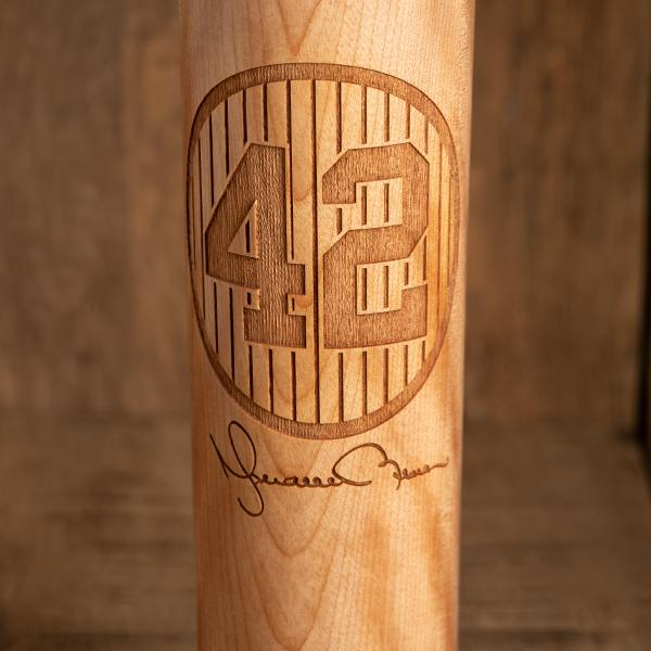 Mariano Rivera 42 Signature Series Baseball Bat Mug | Dugout Mug® -