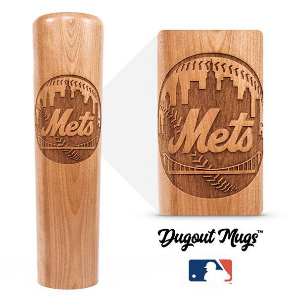 baseball bat mug New York Mets