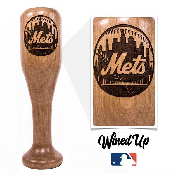 New York Mets Wined Up® | Baseball Bat Wine Mug