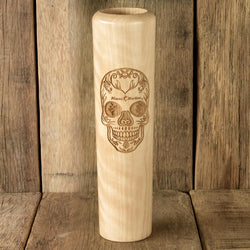 Miami Marlins Sugar Skull Baseball Bat Mug