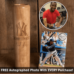 Miguel Andujar Autographed Photo and Dugout Mug Combo (ONLY 150 AVAILABLE) -