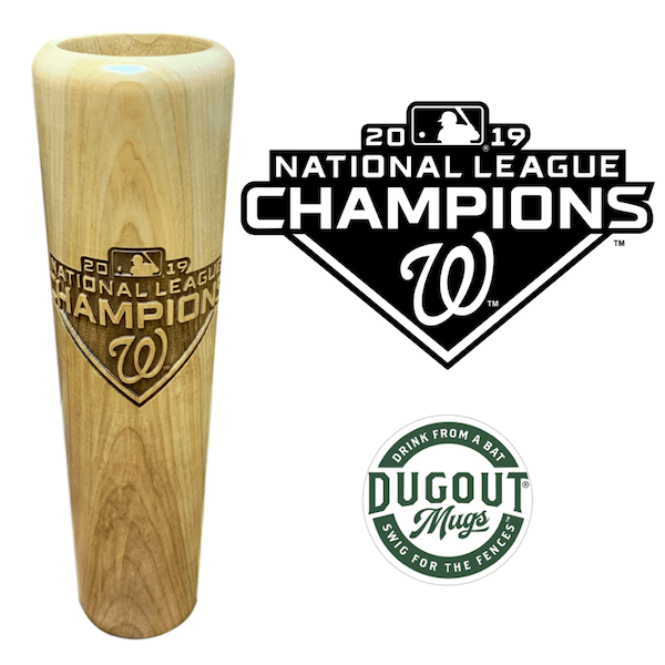 Washington Nationals 2019 National League Champions Dugout Mug®