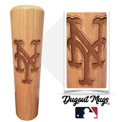 New York Mets - NY Dugout Mug® - Baseball Bat Mug
