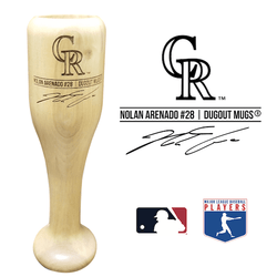 Nolan Arenado Baseball Bat Wine Glass | Colorado Rockies | Signature Series Wined Up®