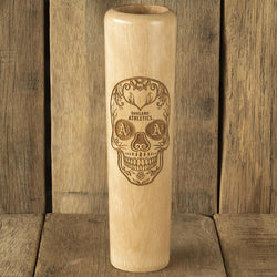 Oakland Athletics Sugar Skull Baseball Bat Mug