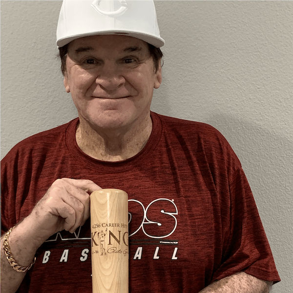 "Pete Rose ""King Pete"" Baseball Bat Mug 