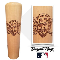 Pirates - Pirate Dugout Mug® - Baseball Bat Mug