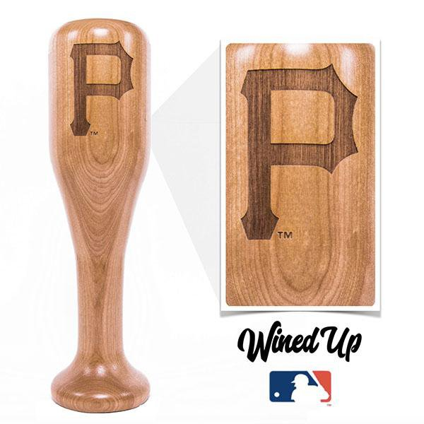Pirates - P Wined-Up - Baseball Bat Wine Mug