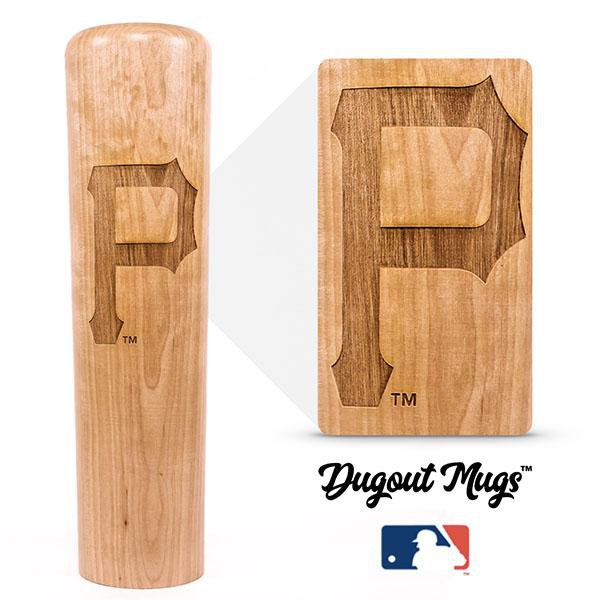 Pirates - P Dugout Mug® - Baseball Bat Mug