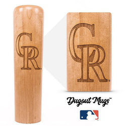 Rockies Dugout Mug® - Baseball Bat Mug