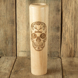 Seattle Mariners Sugar Skull Baseball Bat Mug