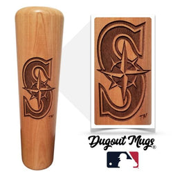 Seattle Mariners - S Dugout Mug® - Baseball Bat Mug