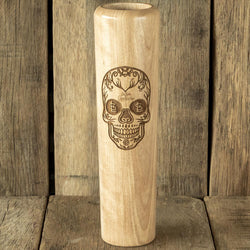 St Louis Cardinals Sugar Skull Baseball Bat Mug