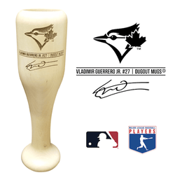 Vladimir Guerrero Jr. Baseball Bat Wine Glass | Toronto Blue Jays | Signature Series Wined Up®