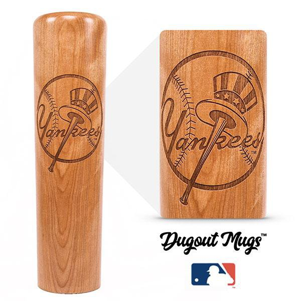 baseball bat mug New York Yankees