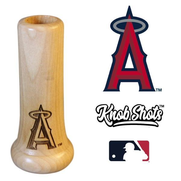 bat knob shot glass Los Angeles Angels