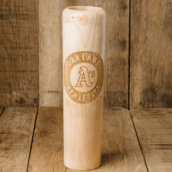 baseball bat mug Oakland Athletics