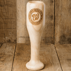 baseball bat wine glass Washington Nationals