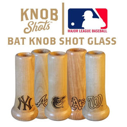 mlb bat knob shot glass