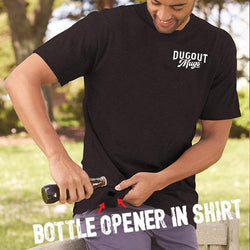 Dugout Mug Bottle Opener Shirts